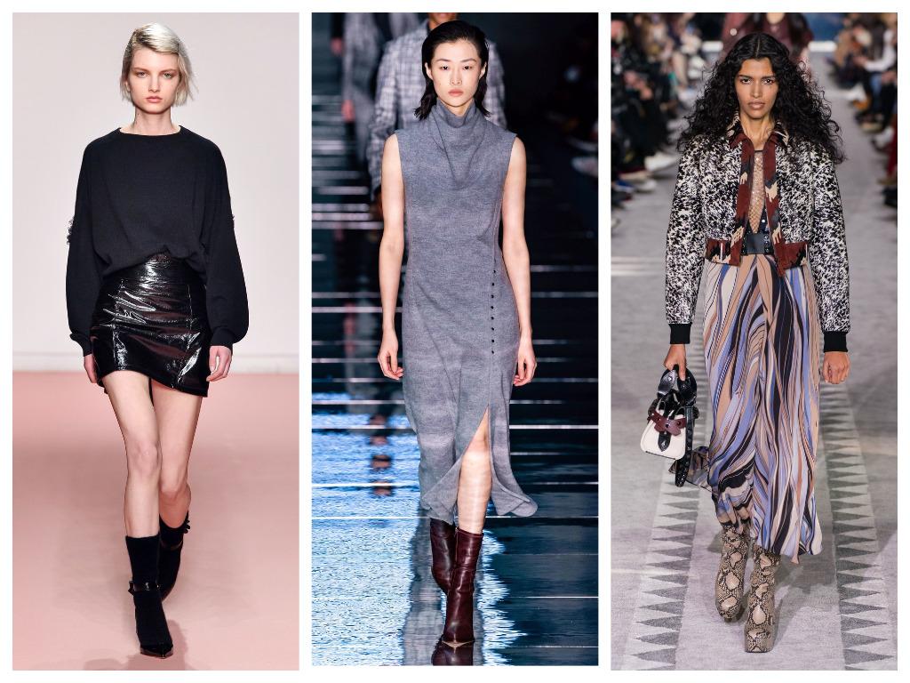 модная женская обувь зима 2020 - женские полуботинки