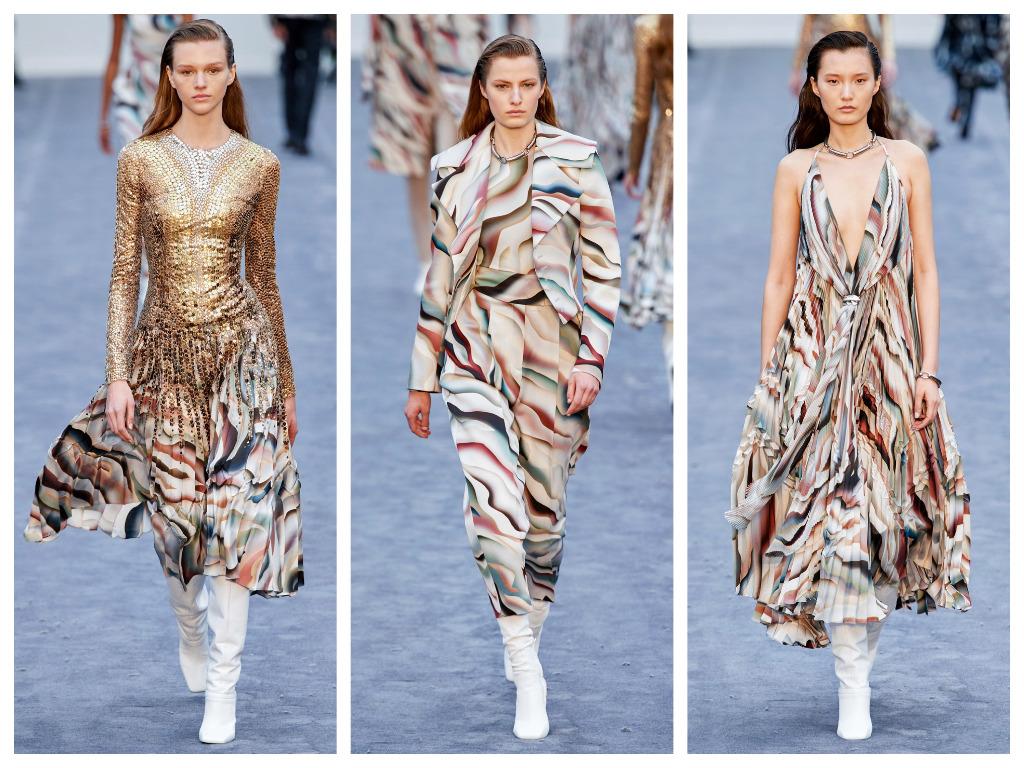 модная женская обувь зима 2020 - обувь белого цвета
