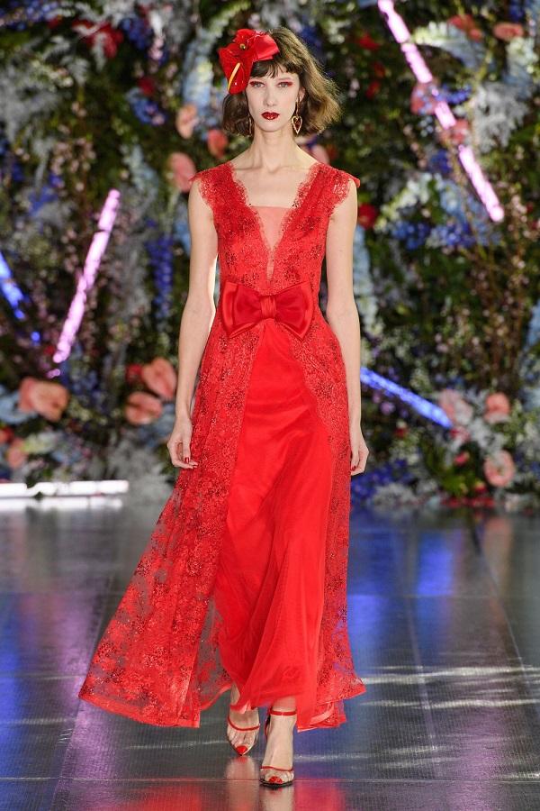 платье из модной коллекции Rodarte