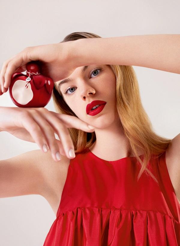 Nina Rouge - женская парфюмерная вода от Nina Ricci, описание, ноты, дизайн