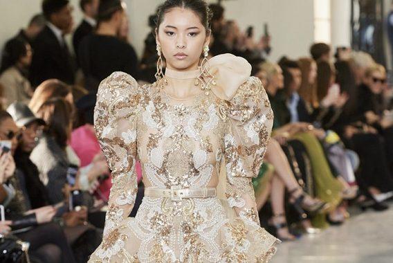 модная коллекция Elie Saab Haute Couture весна лето 2020