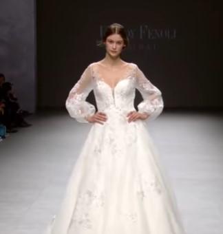 платье невесты с длинными рукавами - свадебная мода 2020
