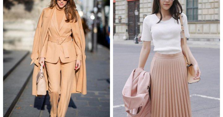 изысканность и стиль - пудровые тона в гардеробе, мода весна лето 2020
