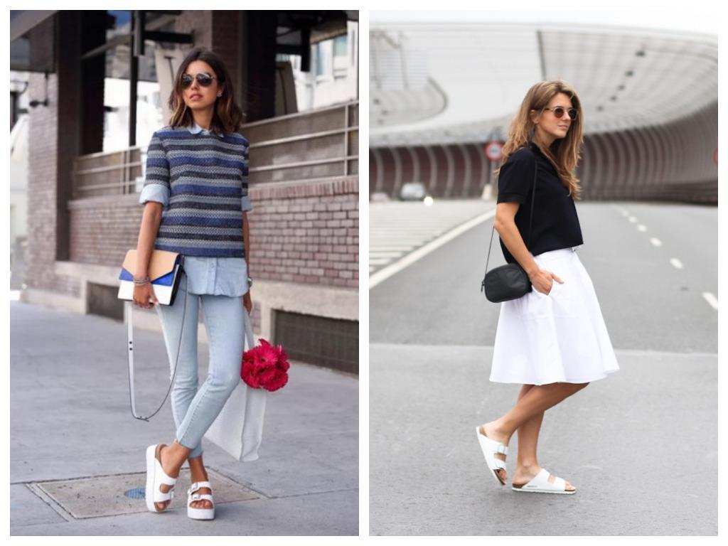 белые биркенштоки - что это, особенности, модная женская обувь на лето