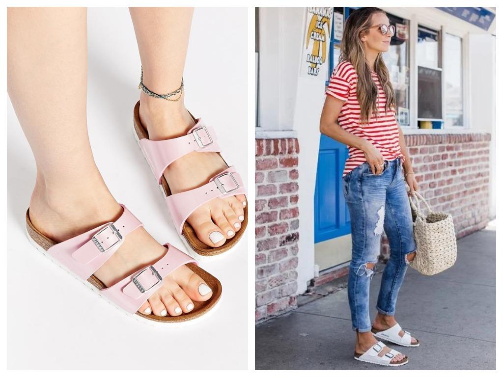 биркенштоки - что это, особенности, модная женская обувь на лето