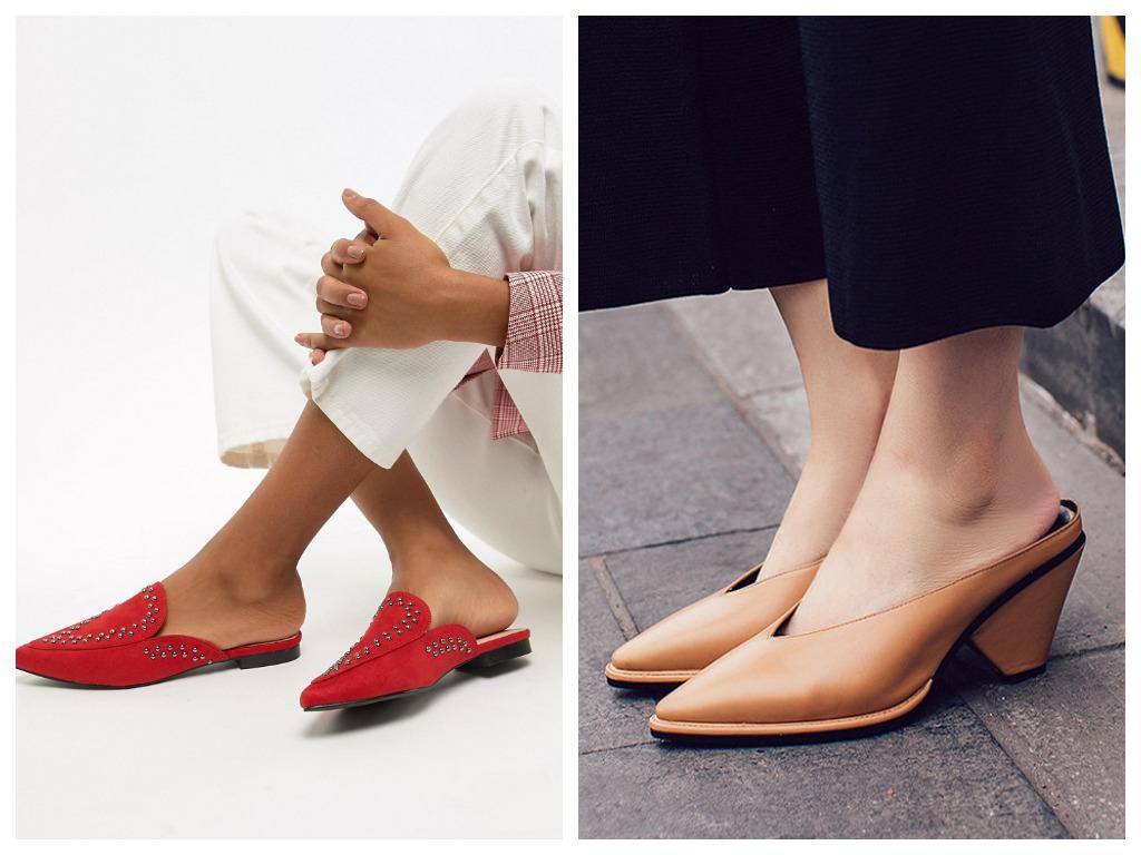 мюли с закрытым носом - что это, особенности, модная женская обувь на лето