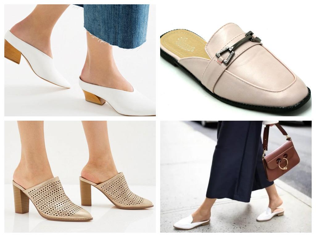 мюли - что это, особенности, модная женская обувь на лето
