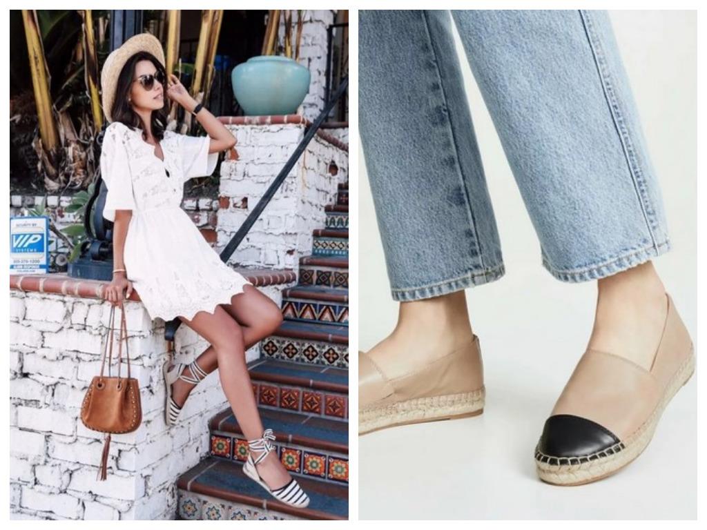 эспадрильи - что это, особенности, модная женская обувь на лето