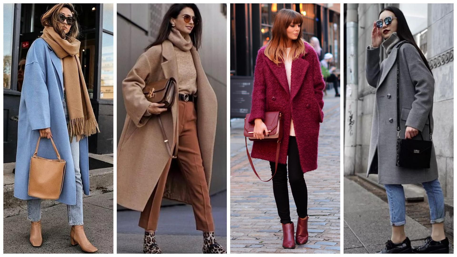 модные женские пальто осень 2020, осенний гардероб