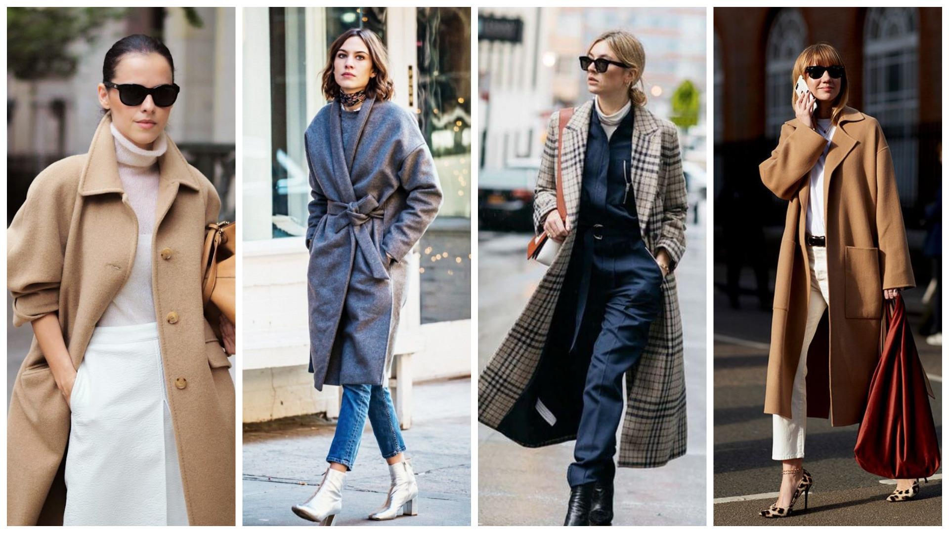модные пальто осень 2020