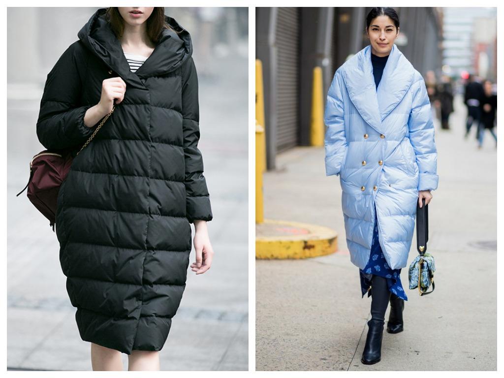 пуховик кокон - мода осень зима 2020-2021