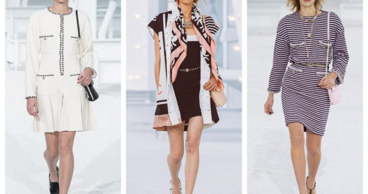 модная коллекция Шанель весна лето 2021